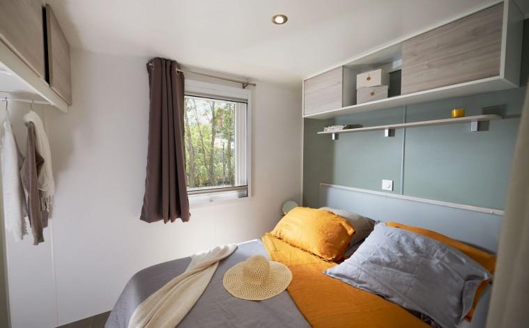 Habitación matrimonio mobilhome Tamariu nuevo